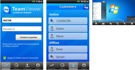 teamviewer android application