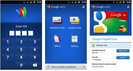 Best wallet app android - Knc website