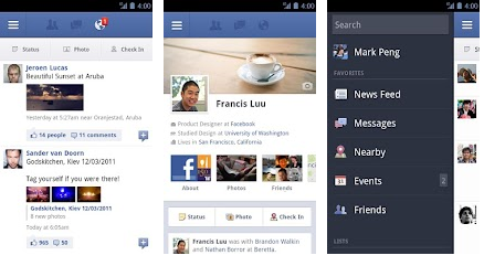 facebook free app for android