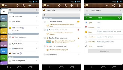 todo list task manager android app. Black Bedroom Furniture Sets. Home Design Ideas