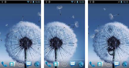 Galaxy S3 Free Live Wallpaper