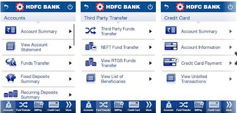 hdfc bank credit card application form