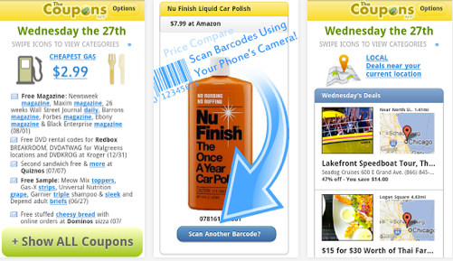 Best couponing apps for android