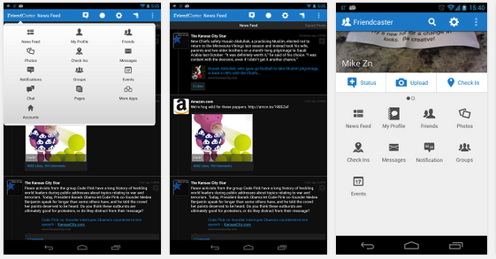 Facebook application for android tablet for App tablet android gratis